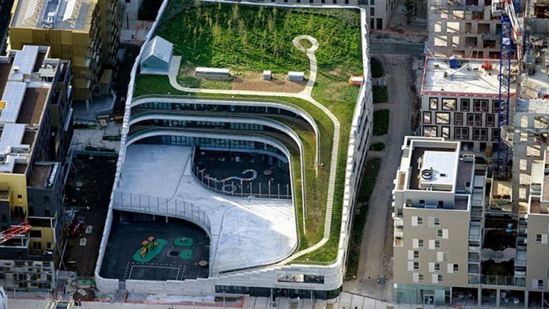 scuola giardino a parigi